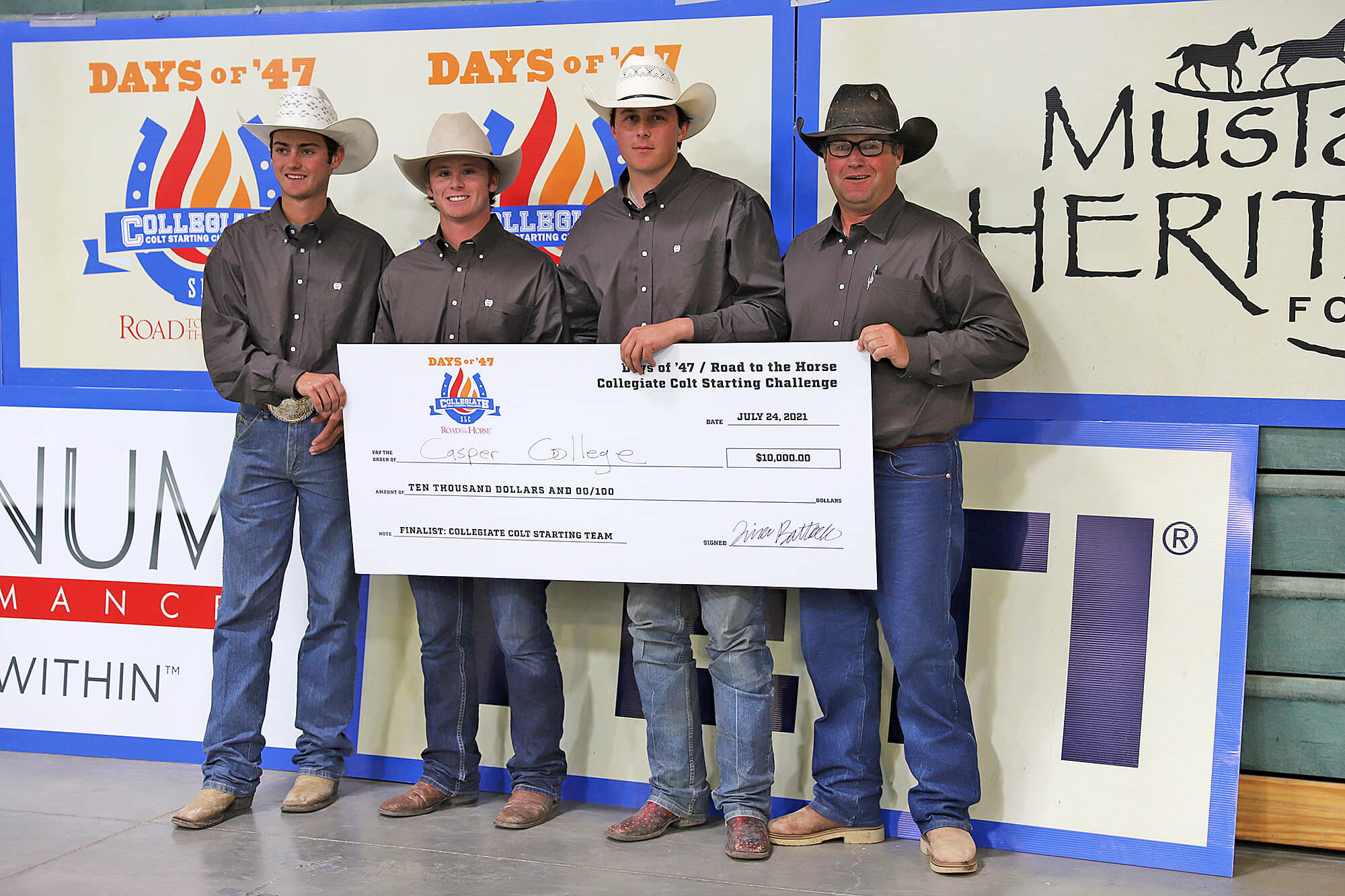 Photo of Road to the Horse CC contestants