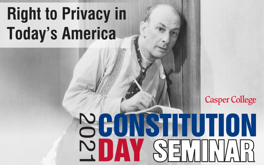 Seminar to look at privacy in today's America