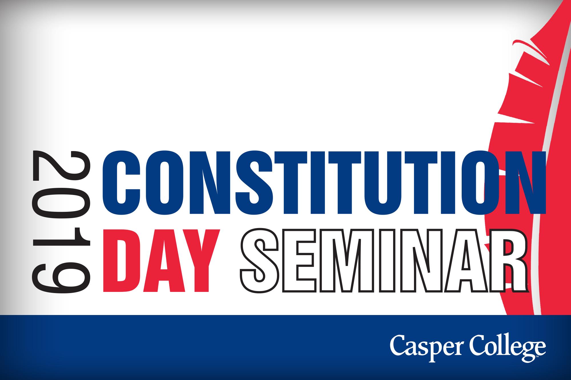 Constitution Day Seminar image