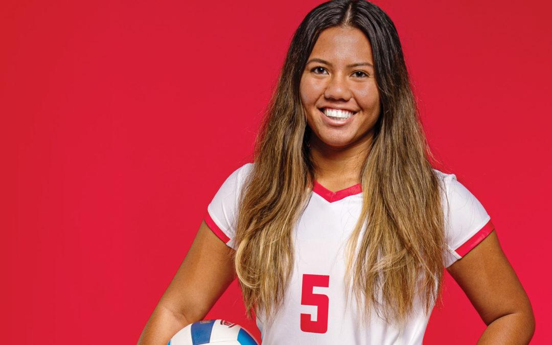 Volleyball 2019: Q and A: Meet Mackenzie Leong