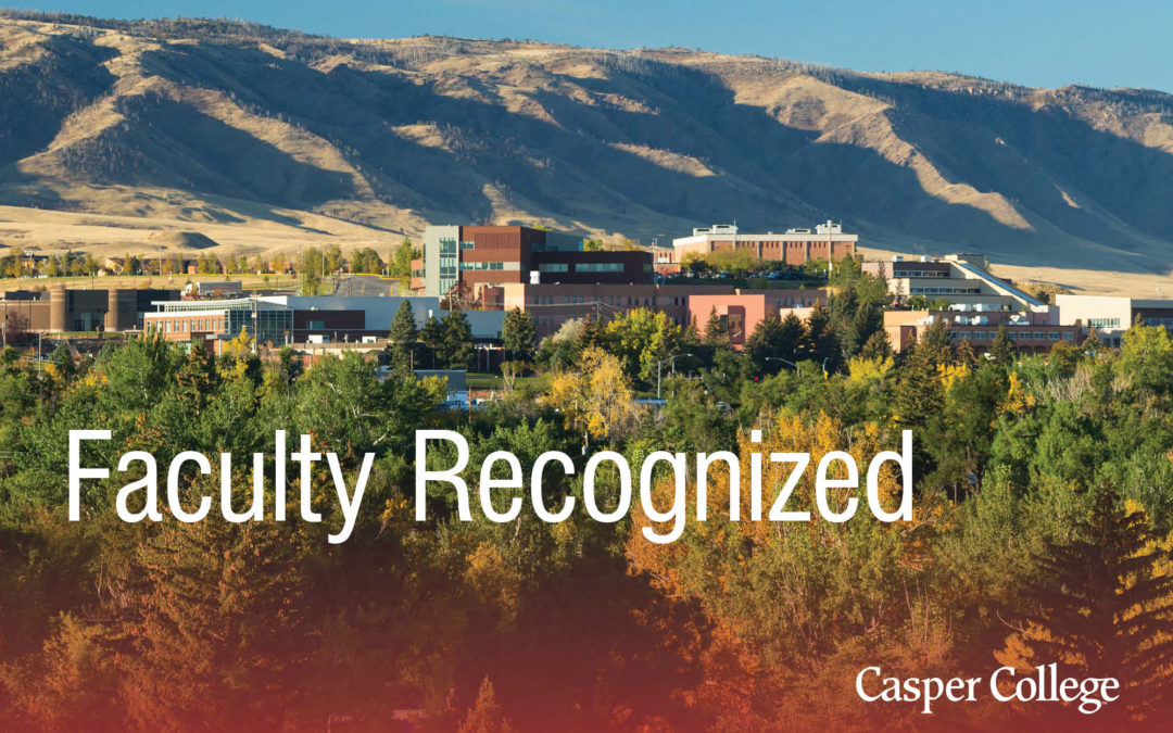 Wyoming Arts Council recognizes three faculty