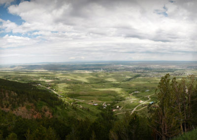 Casper Mountain overlook